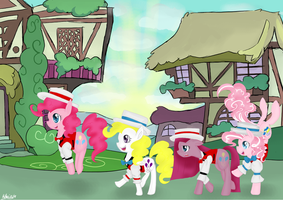 Just another day in Ponyville by DrHikari
