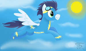 Soaring with Soarin' by InflatedSnake