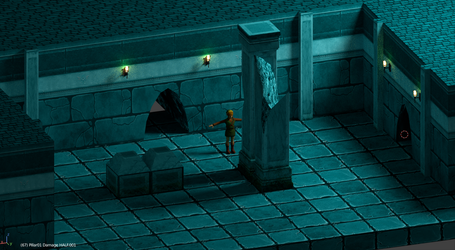 Dungeon Sample Bombable Walls by CheifWahooMcDaniel