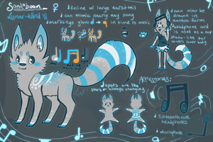 Sonicboom Reference Sheet by Lunar-Wind