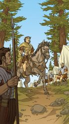 Caesar and the Battle of Alesia Page 01 Colors by JerMohler