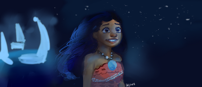 I am Moana by Arioodle