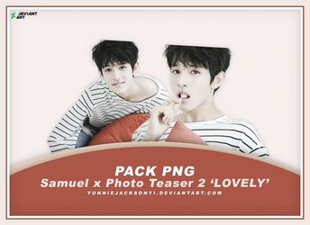 [PNG Pack #22] Samuel x Photo Teaser 2 'LOVELY' by yunniejacksonyi
