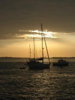Herm Sunset by Chihito