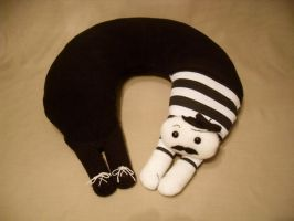 Pierre Neck Pillow by Justenjoyinglife