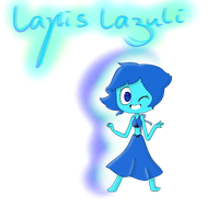 Experiment with lapis lazuli by EddisAWESOME