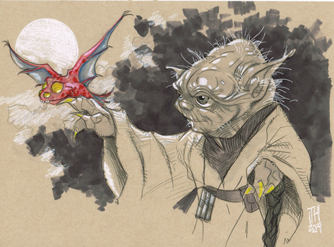 Yoda by Hodges-Art
