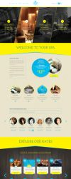 Your Spa - Health/Beauty One Page PSD Template by heavenzART