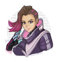 Sombra .Overwatch by sexyfairy