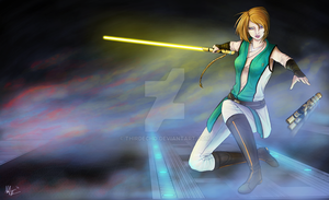 Jedi Knight Aleon of Osarian - Change by ThirdEcho