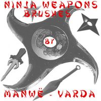 Ninja Weapons by Manwe-Varda