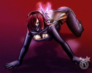 Sexy Ninja Demon by purpleGlow