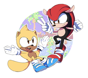 Ray and Mighty + by Stardust-Dreamii