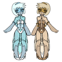 Twin Pearls by SoulChameleon