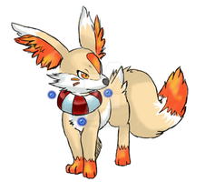 fennekin evolution 1 by ko-yuki-chan