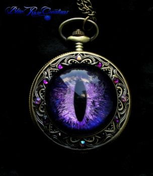 Sovereign Deluxe - Dragon Eye Lavender Purple by LadyPirotessa