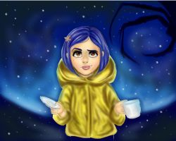 Coraline by 23wee