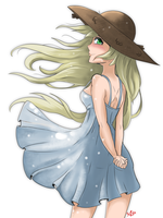 Sundress Girl by Aggrotard