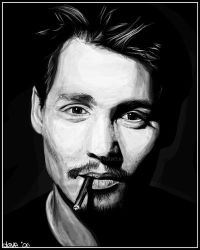 That Depp Fella by BikerScout