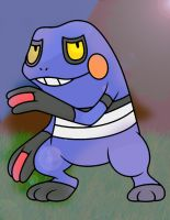 Croagunk in the Marsh