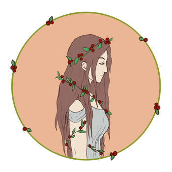 Mistleberry Girl by MrsMorace