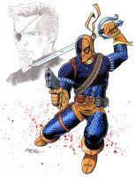 Deathstroke by 93Cobra