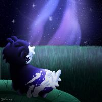 Somewhere Past the Milky Way by Zevhara