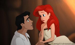 Ariel and Eric II by romigd13