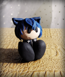 Mini Ikuto Sculpey by SariousSleuth