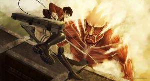 Attack on Titan by Myme1