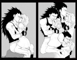 Gajeel and Levy-Close moments vol.2 by syren007
