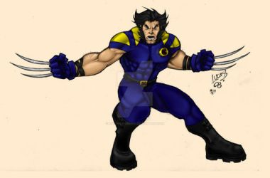 Wolverine EVO COLORED by LucasAckerman