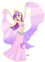 Equestrian Dancer: Princess Cadence by ZellyKat