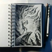 Instaart - Fool and lighting by Candra