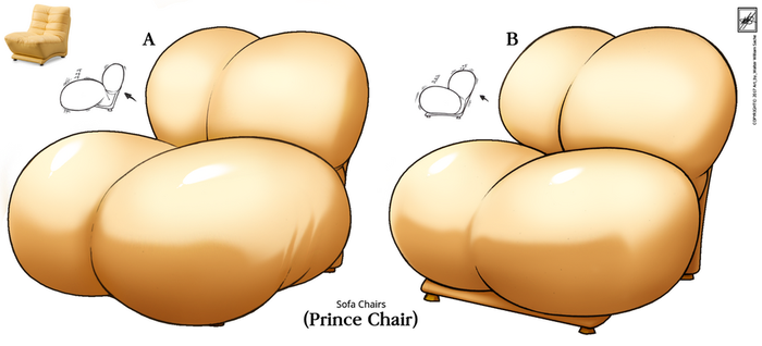 Couch chair (Prince Chair) near completion by wsache2020