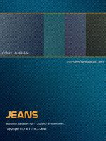Jeans Wallpapers by mx-steel