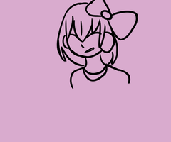 Sayori GIF {misleading thumbnail k?} by calpico-crisis