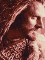 Thorin Oakenshield - Cross Stitch by shingorengeki