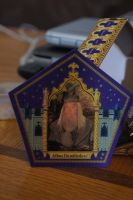 Chocolate Frog Card (Dumbledore) by Prue126