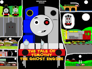 The Tale Of Timothy The Ghost Engine Part One By Curtis Parish On