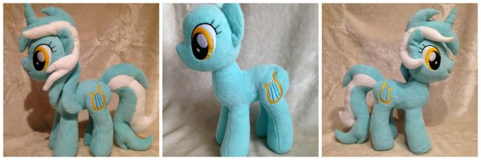 Lyra Heartstrings Plush by PlushatiersINC