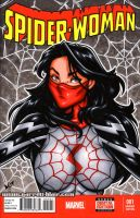 Silk bust sketch cover by gb2k