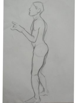 Life Drawing One by fizzTAQ