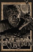 The WolfMan - Lon Chaney jr. by 4gottenlore