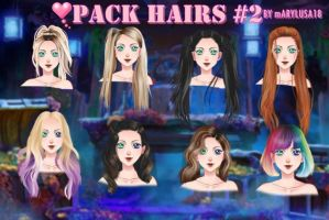 Pack Hairs 2 My candy love (UL) by Marylusa18