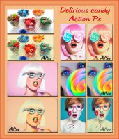 Delirious candy Action Ps by Laurent-Dubus