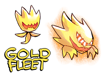 FLEET! - Gold Fleet Wisp by Cylent-Nite