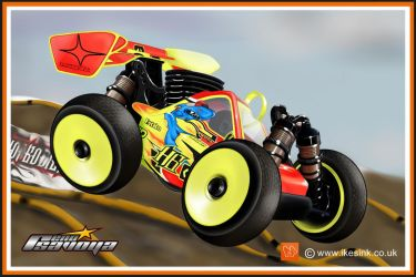 Reno Savoya's Hotbodies Rc buggy Cartoon by PIKEO