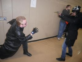 Don't Bring a Gun to a Wesker Fight by Dr-InSean