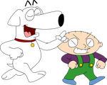 Stewie and Brian by T95Master
